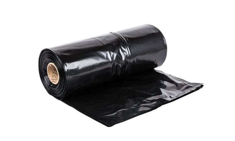 E2090 Orta Boy Siyah Endüstriyel Çöp Torbası
