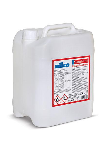 Nilco Sanisept-H 711 El ve Cilt Dezenfektanı 5LT