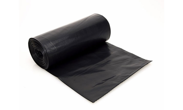 E 2045 Konteyner Siyah Konteyner Çöp Torbası 90x125