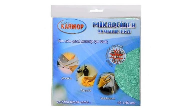 Karmop Microfiber Bez 40x40 OPP