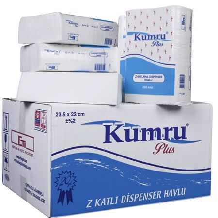 Kumru Plus Dispenser Z Havlu 23×23.5 cm