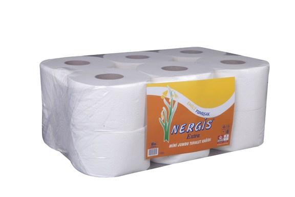 Nergis Mini Jumbo Tuvalet Kağıdı 4.5 kg Extra